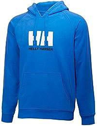 Helly Hansen Hh Logo Summer Hoodie Sudadera con Capucha, Hombre, Azul Marino, L