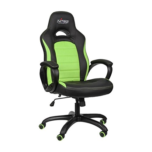Nitro Concepts C80 Comfort Gaming Stuhl - schwarz/grün
