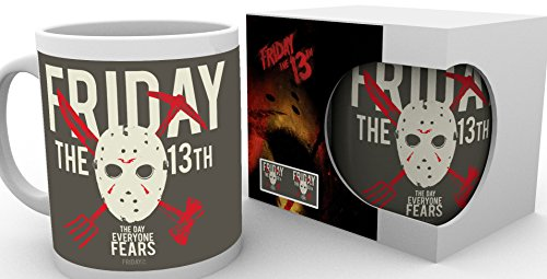 (Freitag der 13. Tasse The Day Everyone Fears Friday the 13th Kaffeetasse Becher Mug)
