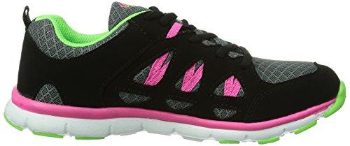 Bruetting - Sneaker, Donna Grigio (Grau (grau/schwarz/pink))