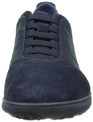 Geox U Nebula F, Sneakers Basses Homme Bleu (Navyc4002)