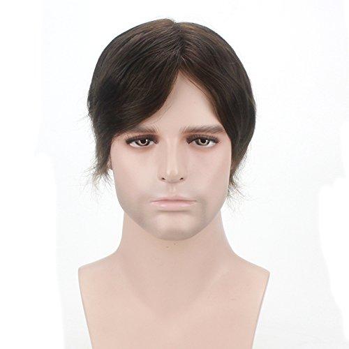 Lordhair Transparent Super Dünne Haut Menschliche Haarersatz Farbe # - Perücke Axel