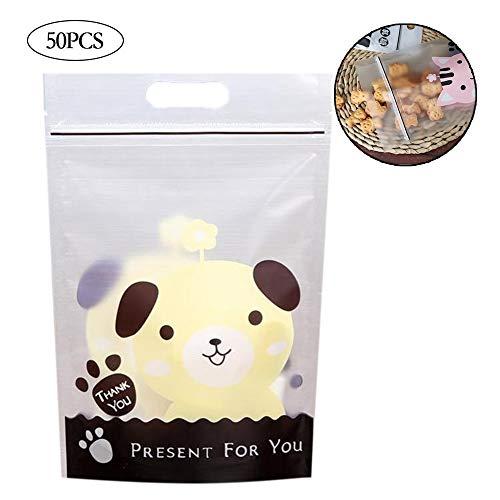 50 PC-Nette Tier Adhesive Tasche Oder Aufkleber Plätzchen Diy Geschenk Für Geburtstagsfeier Süßigkeiten Verpackung Taschen