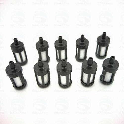 10 pièces gaz filtre à carburant pour Stihl Ts400 Ts410 Ts420 Ts650 Ts700 Ts760 Ts800 tronçonneuse pièces