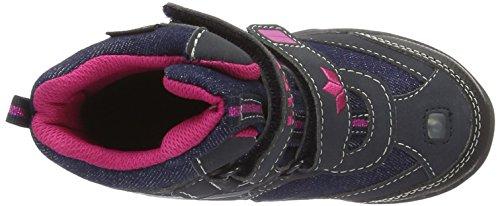 Lico Lilly V, Bottes de Neige Fille Bleu (Marine/Pink)