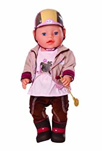 Zapf Creation 817872 - Baby born, Deluxe Reiter Outfit