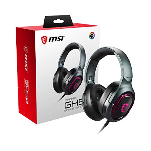 MSI Immerse GH50 - Auriculares 2.0 USB