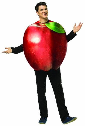 Roter Apfel Kostüm für (Imposta Rasta Kostüme Halloween)