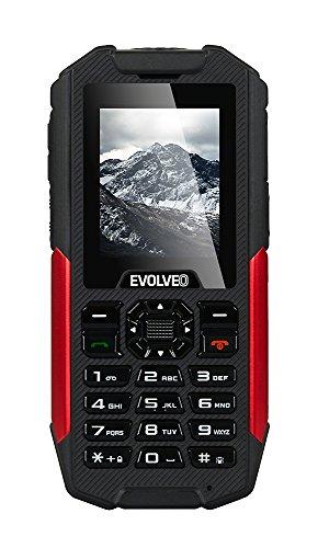 """Evolveo StrongPhone X3 2""""194G-Telefono cellulare doppia SIM, Sveglia calendario, SOS agli ioni di litio, HSDPA, HSPA HSUPA, WCDMA SDHC, Barra)"""