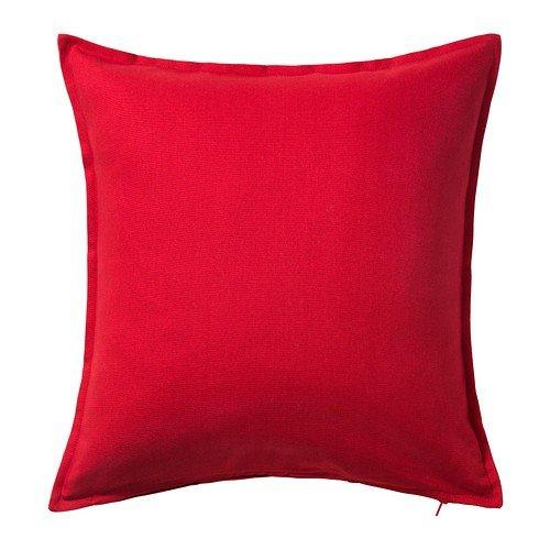 IKEA Gurli - Kissenbezug, rot - 50x50 cm (Kissenbezüge Ikea)