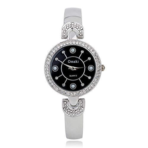 Reloj De Pulsera para Dama De Relojes De Gama Alta. Reloj De Cuarzo Personalizado De Diamond Girl.
