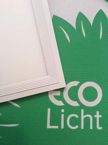 LECOM - LED Panels 120x30, LED Lampe, Wohnzimmerlampe, Deckemlampe, Deckenspots, Warm Weiß 3000K (Energieklasse A+) Farbwiedergabeindex CRI>90 Ra Zertifiziert durch CE, RoHS -