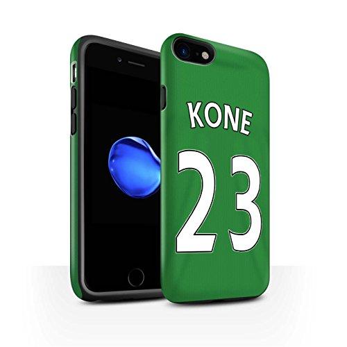 Officiel Sunderland AFC Coque / Matte Robuste Antichoc Etui pour Apple iPhone 7 / Jones Design / SAFC Maillot Extérieur 15/16 Collection Kone
