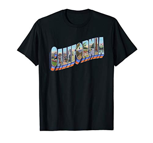 California CA Vintage Retro-Souvenir T-Shirt -