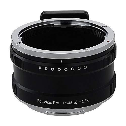 Fotodiox Pro Lens Mount Adapter, Pentax 645 (P645) Mount FA & DFA Auto Focus Lenses to G-Mount GFX Mirrorless Digital Camera Systems Pentax 645