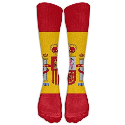a53a01b2f136 vintage cap Spain Flag Compression Socks Soccer Socks High Socks Long Socks  For Running