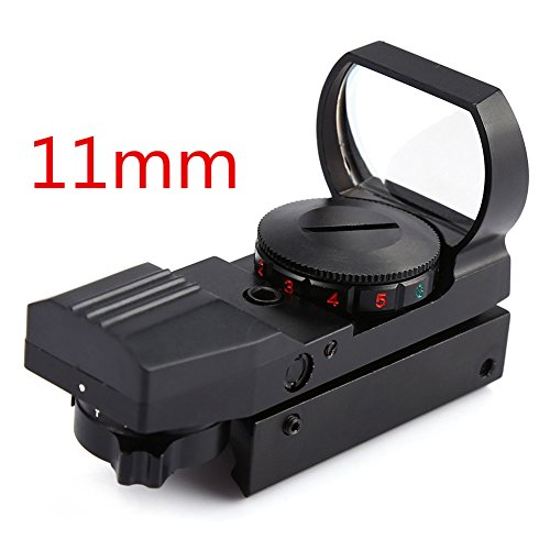 Moa Red Dot Sight 1 (Reflexvisier airsoft reflexvisier reflexvisier 11mm Red Dot Sight Area 4 Absehen Taktisches Zubehör)
