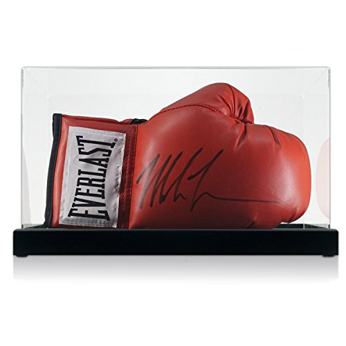 Exclusive Memorabilia Mike Tyson signiert Red Everlast Boxhandschuh im Display Fall