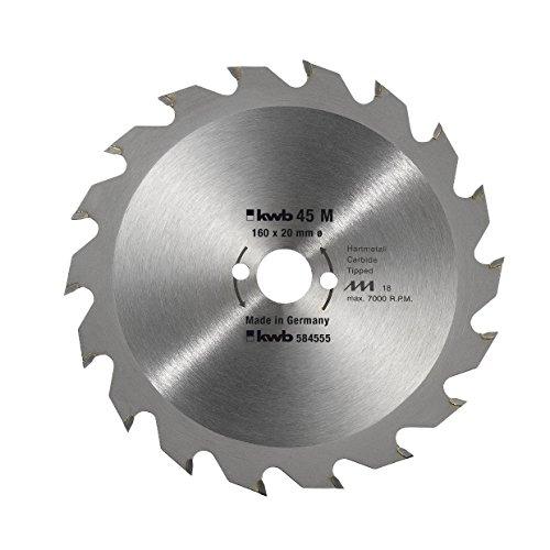 Preisvergleich Produktbild KWB Handkreissägeblatt, CV, 5845-55
