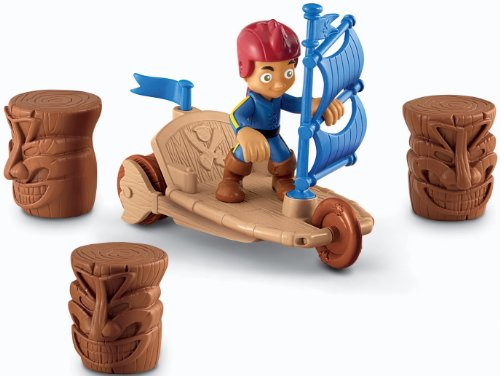 Fisher-Price Disney's Jake and The Never Land Pirates: Jake's Sailwagon