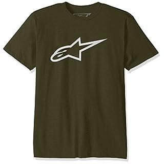Alpinestars Men's ASC Ageless Classic T-Shirt - Military/White, Medium