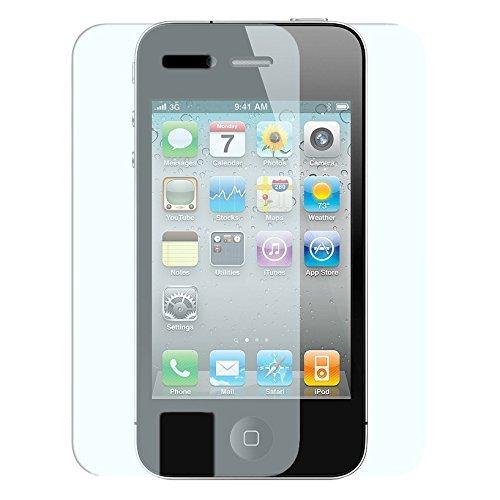 iprotect 2in1 Set Screen Protector + Back Protector Tempered Glass Hartglas Schutzfolie für Apple iPhone 4 / 4s Display + Rückseite Schutzglas 0,3mm
