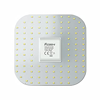 Hizashi Super Bright 14W 2D LED GR10q 4 Pin Square Light Bulb- 4000K Cool White - 1700 Lumens Square Light Bulb - 28 Watt Equivalent 19X19CM(Attention: Ballast Needs to Remove)