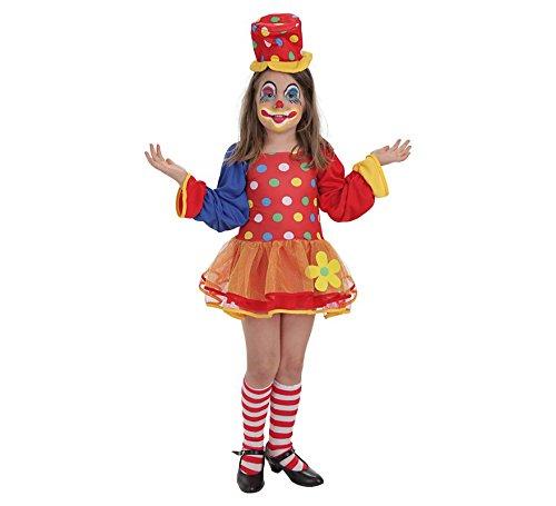 Imagen de llopis  disfraz infantil payaso pepona ts 3/6 años