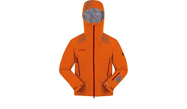 buy online 6b9ee 09094 Mammut Nirvana Snowpeak Jacket orange M: Amazon.de: Sport ...