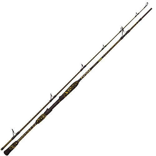 Black Cat Light Spin 2,80m 10-150g - Wallerrute zum Spinnfischen auf Waller, Angelrute zum Spinnangeln auf Wels, Spinnrute
