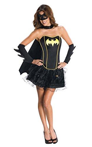 Rubies 3880557 - Costume da Batgirl Donna, XS, Nero