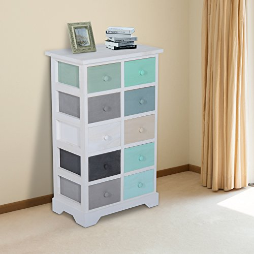 homcom-wooden-storage-cabinet-unit-chest-of-drawers-10-multicolor-drawers-wood-filing-organiser-home