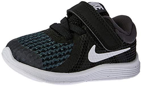 Nike Unisex-Kinder Revolution 4 (TDV) Laufschuhe, Schwarz (Black/White-Anthracite 006), 27 EU