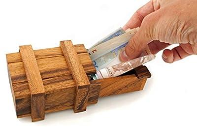 Logica Puzzles art. PANDORA BOX M - Secret Box - difficulty 4/5 EXTREME - Magic Money Box