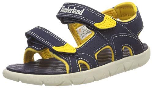 Timberland Unisex-Kinder Perkins Row 2-Strap Sandalen, Blau (Black Iris Xu0), 30 EU