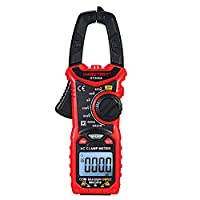 HABOTEST AC/DC Digital Clamp Meter for Measuring AC/DC Voltage, AC/DC Current, Frequency, Duty Cycle, Diode, Resistance, Continuity, Transistors Test, NCV Clamp Multimeter