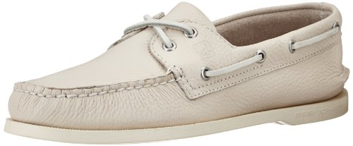 Sperry Authentic Original 2-Eye, Scarpe da Barca Uomo, Beige (Ice), 41.5 M