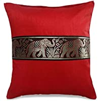 40,6 cm Red Square Couch decorative Pillow case