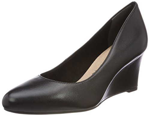 Tamaris 22468, Scarpe con Tacco Donna Nero (Black Leather)