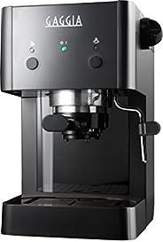 Gaggia RI8423/12 - Macchina da Caffè Espresso Manuale, 950 W, 1L, Nero
