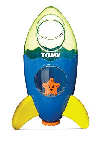 TOMY Raketenfontäne - lustiges Wasserspielzeug für Badewanne, Pool oder Schwimmbad zur Gewöhnung an Wasser für Kinder ab 12 Monate