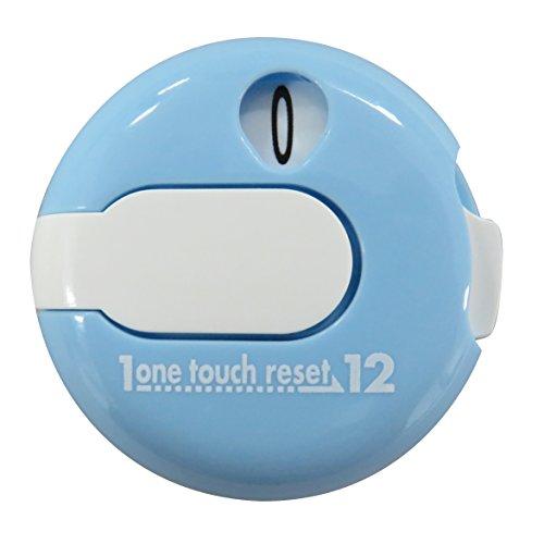 Golf Schlag Zähler, One Touch Golf Scorer von DAIYA, mit Handschuh Clip, leicht und kompakt, Blau -
