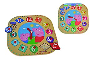 Eichhorn 109265704 - Puzzle de 12 Piezas (13 Piezas, 25 cm, FSC 100%, Madera contrachapada, 25 cm)