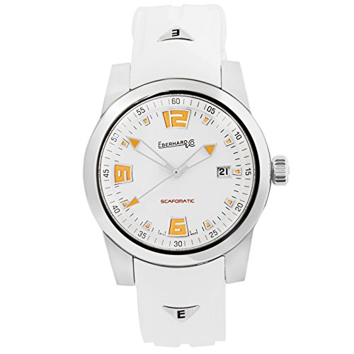 Montre Automatique Eberhard Scafomatic, SW200-1, 42mm, 5atm, Orange, 41026.3.CU