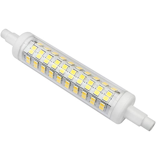 Kakanuo Bombilla LED R7s 118mm 10Watt Equivalente a 100Watt Blanco Frío 6000K 1000Lumens Non-Regulable AC100-265V