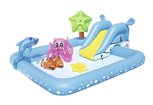 Bestway 53052 - Play Center Acquario Fantastico con Spruzzi