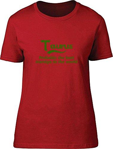 Taurus probabilmente il migliore segno zodiacale nel mondo bambini T Shirt Red