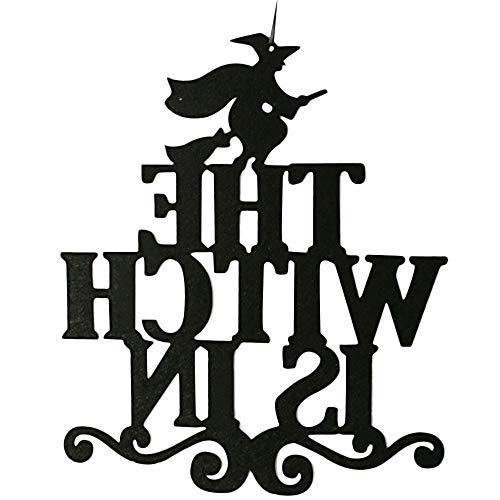 YWLINK Halloween TüR HäNgen Und Wanddekorationen Mauer Oder TüR Dekoration FüR Party Speichern(A,38.1cmx31.7cmx0.3cm)