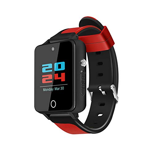 Bluetooth Smartwatch Fitness Intelligente Armbanduhr Fitness Tracker Sport Uhr, S91 GSM 512M + 4G Quad Core Android 5.1 Smart Watch Verwenden Sie WiFi für Android und IOS Smartphones Damen Herren -