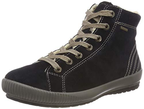 Legero Tanaro, Damen High-Top Sneaker, Blau (Pacific 80), 43 EU (9 UK)